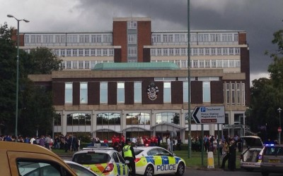 World War Two bomb taken in to Solihull Police Station