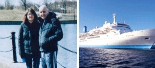 Solihull couple to sue over Christmas cruise ordeal