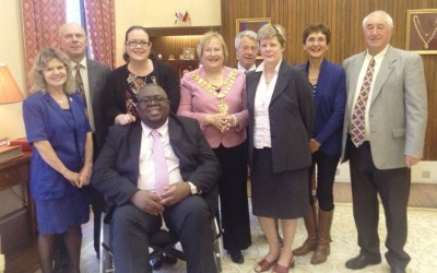 Mayor meets those recognised in The Queen's Birthday Honours List