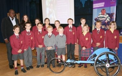 Solihull pupils inspired to raise money for disabled sportspeople