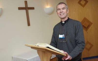 Rev Alan steps down as Solihull Hospital chaplain after 26 years
