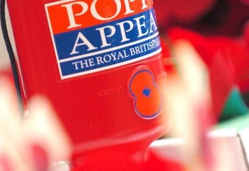 Men identified after appeal to find suspected poppy collection tin thieves
