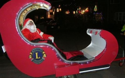 Marston Green and Chelmsley Wood will get a visit from Santa