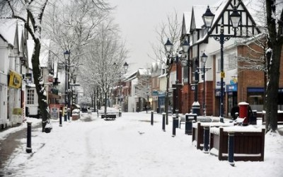 White Christmas is guaranteed in Solihull this year