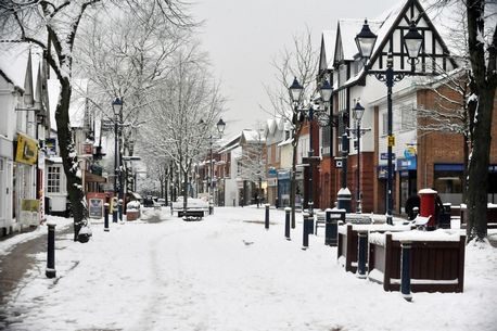 theres one place in england that is guaranteed a white christmas it will snow in solihull - Will It Be A White Christmas