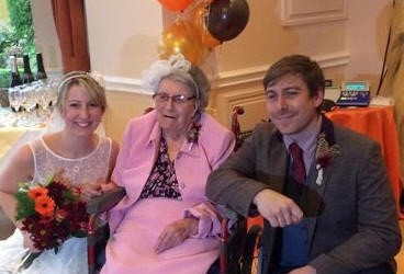 Star and Garter bring wedding to Grandma Joan
