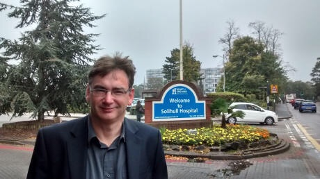 Hospital shuttle bus to help patients - Solihull Updates